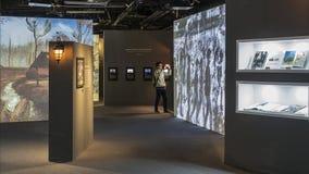Exposition de Van Gogh Photographie stock libre de droits