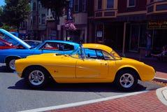 Exposition de voiture ancienne Photo stock