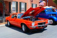 Exposition de voiture ancienne Images stock