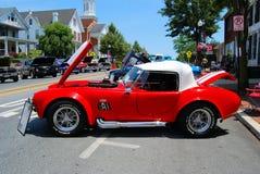 Exposition de voiture ancienne Image stock