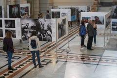Exposition de World Press Photo à Budapest Image stock