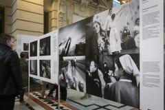 Exposition de World Press Photo à Budapest Images stock