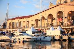 Exposition de yacht Photo libre de droits