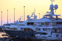 Exposition de yacht Photographie stock libre de droits