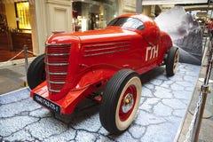 Exposition des rétros voitures soviétiques à Moscou Photo stock