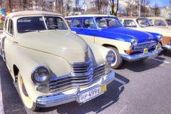 Exposition des voitures antiques Photo stock