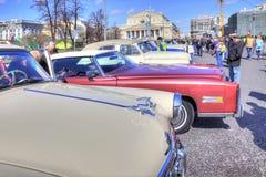 Exposition des voitures antiques Photo libre de droits