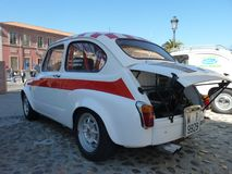 Exposition des voitures de vintage, le 24 février 2018 à Talavera de la Reina, Espagne image libre de droits