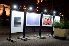 Exposition du Caucase sept histoires photos stock