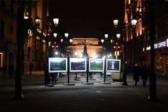 Exposition du Caucase sept histoires photos libres de droits