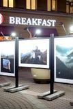 Exposition du Caucase sept histoires photographie stock