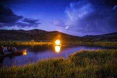 Exposition du feu Photographie stock