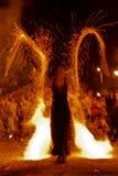 Exposition 17 du feu Images stock