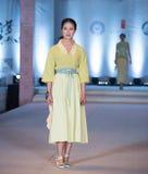 Exposition en bambou de trace-mode de neuvième série Images stock