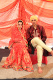 Exposition ethnique multi de mariage de la Malaisie Photos libres de droits