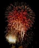 Exposition/Guy Fawkes Night de feux d'artifice Photos stock