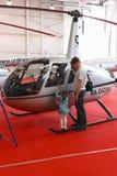 Exposition HELIRUSSIA 2011 Images libres de droits