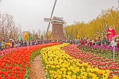 Exposition horticole internationale Qingd 2014 Photo libre de droits