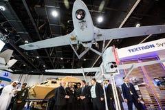 Exposition internationale de la défense en Abu Dhabi Image libre de droits