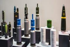 Exposition internationale de la défense en Abu Dhabi Photos libres de droits