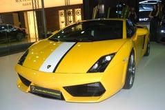 Exposition internationale Lamborghini d'automobile photos libres de droits