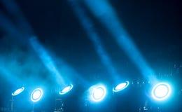Exposition légère au concert image libre de droits