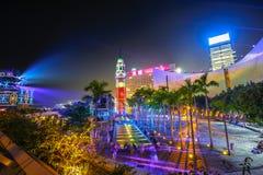 Exposition légère Hong Kong Photographie stock