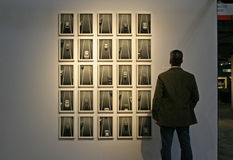 Exposition New York de photo d'AIPAD photographie stock libre de droits