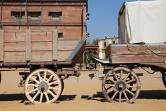 Exposition occidentale à Tabernas Espagne Image libre de droits