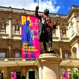 Exposition royale d'été d'académie images libres de droits