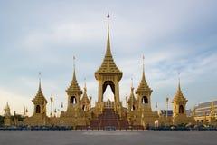 Exposition royale d'incinération du Roi Bhumibol Adulyade de Sa Majesté photos stock