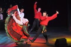 Exposition traditionnelle russe Images libres de droits