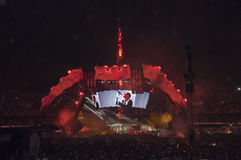 Exposition U2 360 au Brésil Image libre de droits