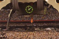 Exposition U2 360 dans São Paulo Images libres de droits