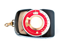 Exposure meter. For measurement of the illumination at removal Stock Photos