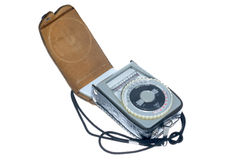 Exposure Meter, vintage Stock Photos