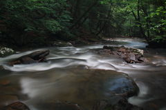 Exposure of Mill Creek Royalty Free Stock Image