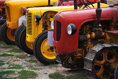 Exposure of tractors Stock Image