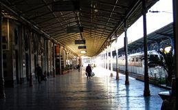 Exprès d'orient de station à Istanbul images stock