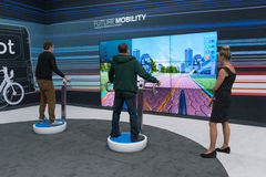 Exprerience futuro da mobilidade Fotos de Stock