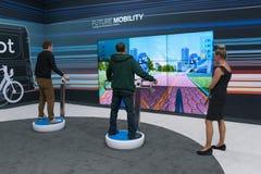Exprerience futuro di mobilità Fotografie Stock