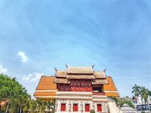 Expresar el templo imágenes de archivo libres de regalías