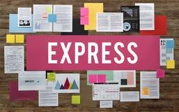 Exprese el concepto divertido de la energía de la sorpresa bonita de la felicidad imagen de archivo libre de regalías