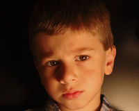 Expresión de Childs imagen de archivo libre de regalías