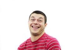 Expresión de la risa Fotos de archivo libres de regalías