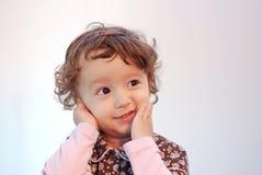 Expresión del niño Imagen de archivo libre de regalías