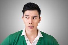 Expresión facial divertida foto de archivo libre de regalías