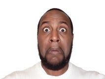 Expresión facial - sorpresa divertida Imagen de archivo libre de regalías