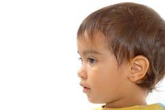 Expresión del niño Foto de archivo libre de regalías