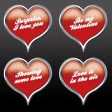 Expresiones 04 del amor Imagen de archivo libre de regalías